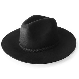 Tart Indy Fedora in Black 100% Wool one size NWT